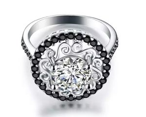 (Shipped Only) Flower 925 Sterling Silver Engagement Ring for Sale in Wichita, KS