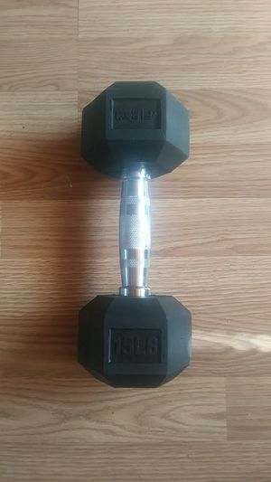 15lbs Dumbbell for Sale in Pueblo, CO