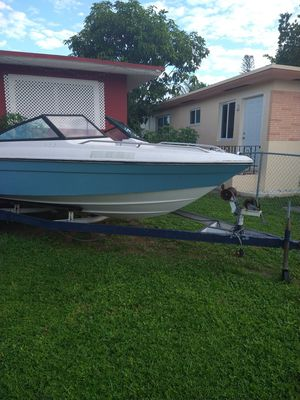Boat and trailer 18 FT for Sale in Biscayne Park, FL