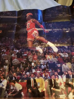 "Michael Jordan ""classic"" poster (airborne) for Sale in Ocean Pines, MD"