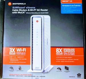 Motorola eXtreme Cable Modem for Sale in Oregon City, OR