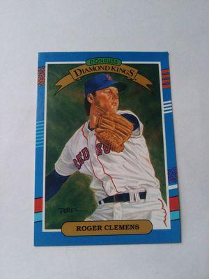 1990 Donruss Diamond Kings Roger Clemens Baseball Trading Card for Sale in Las Vegas, NV