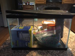 Fish tank and accessories for Sale in Jersey Shore, PA