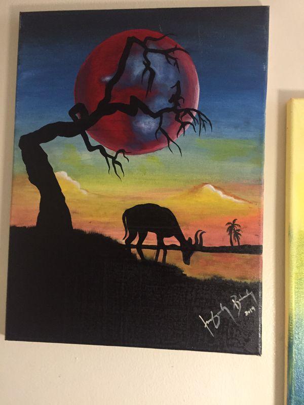 Original paint by me