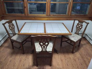 Kitchen Tiled Table & Chairs for Sale in NJ, US