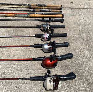Fishing poles for Sale in Fremont, CA