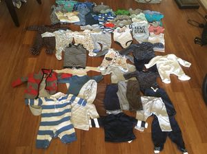 Baby boy clothes 3months over 50items for Sale in Fairfax, VA