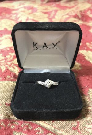 Size 9 diamond ring for Sale in Charlotte, NC
