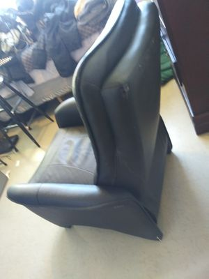 Contemporary leather compact recliner for Sale in Denver, CO