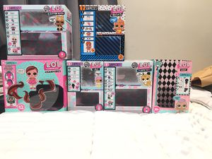 Lol dolls display boxes for Sale in Hayward, CA