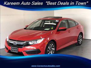 2016 Honda Civic Sedan for Sale in Sacramento, CA