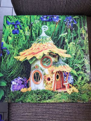 Beautiful fairy house puzzles. Almost 19×19 for Sale in Houston, TX