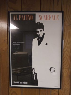 Scarface frame poster for Sale in Warwick, RI