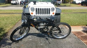 Motorized Gas Bicycle For Sale or Trade with 49cc 4-stroke motor and 26 inch aluminum frame. for Sale in West Park, FL