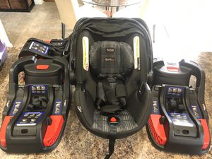 Britax car seat and three bases for Sale in Greer, SC