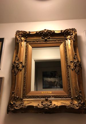 Large Antique Gilded Mirror for Sale in Los Angeles, CA