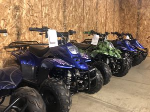 Brand new 110cc atv four wheeler with warranty for Sale in New Lenox, IL