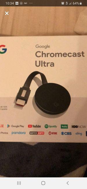 Chromecast Ultra for Sale in Beaverton, OR