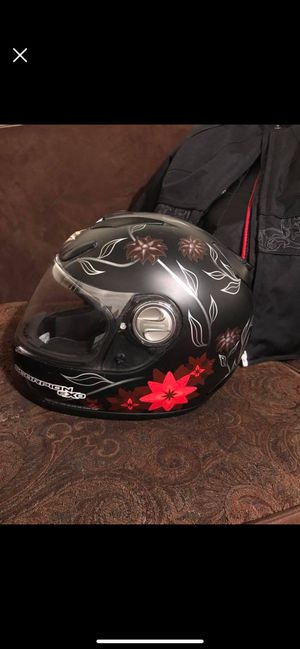 Female Motorcycle Helmet and Jacket for Sale in Denver, CO