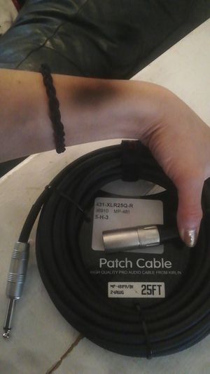 High quality pro audio cable kirlin for Sale in Garland, TX