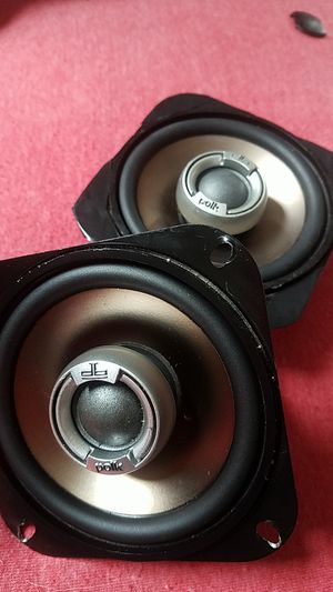 Polk Audio DB401 4-Inch Pair Coaxial Speakers for Sale in Tacoma, WA