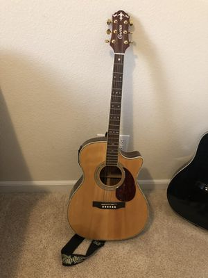 Crafter Acoustic Electric Guitar for Sale in Chico, CA