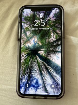 UNLOCKED IPhone X 256GB for Sale in Converse, TX