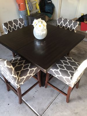 Brand new kitchen table Gray chairs for Sale in Phoenix, AZ