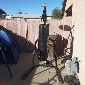100 Lb Punching Bag With Speed Bag for Sale in Peoria, AZ