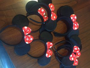 Ears Minnie Mouse ... party for Sale in Castro Valley, CA