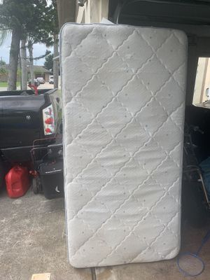 Posterpetic Twin size mattress only for Sale in Port St. Lucie, FL