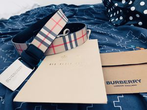 Burberry men's belt size 90/30 for Sale in Glendale, CA