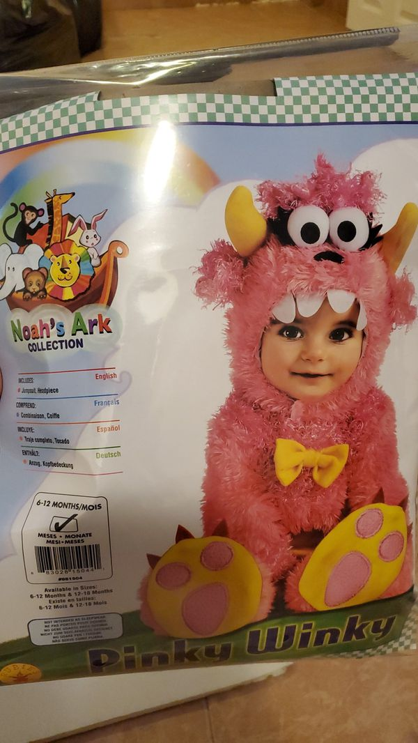 Pinky winky Halloween costume for baby 6-12months