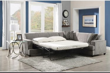 3pc sleeper sectional free delivery for Sale in Riverdale,  GA