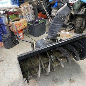 Craftsman Tractor Snow Blower Attachment for Sale in Sutton, MA