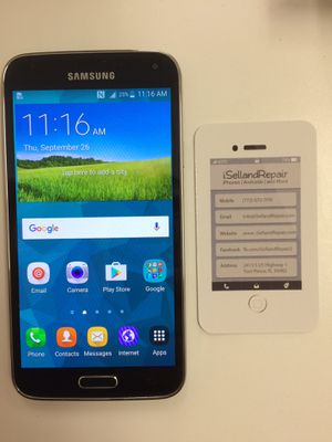 Samsung Galaxy S5 16GB UNLOCKED for Sale in Fort Pierce, FL