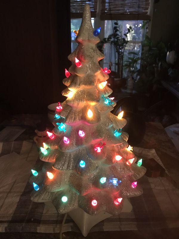 Vintage ceramic Christmas tree