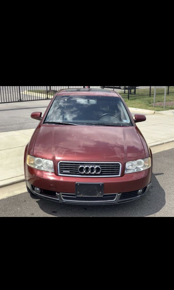 2004 Audi Drives Good Clean Inside and out Only have 109.200 miles