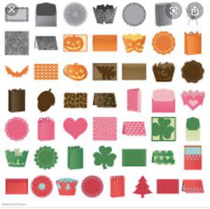 Anna Griffin ~ NEW ~ CRICUT Cartridge - Cupcake wrappers, cards, images, bags & decor! for Sale in Corona, CA
