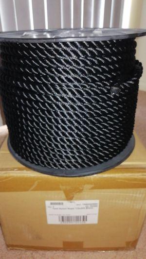 Twist nylon rope 1/2 X 300 black for Sale in Carlisle, PA