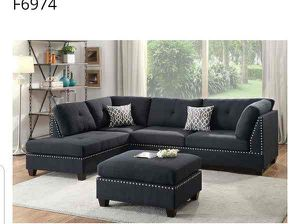 BRAND NEW 3PC SECTIONAL LIVING ROOM NEW FURNITURE SOFA SET AVAILABLE GLK for Sale in Pomona, CA