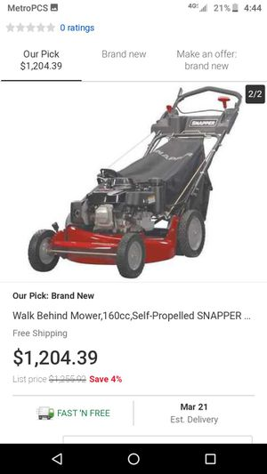 Ninja series 21 lawn mower for Sale in West Valley City, UT