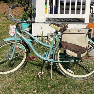 Women's Huffy Bike With Rack And Saddle Bags for Sale in Richmond, VA