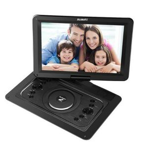 "14.1"" Portable DVD Player with HD 1080P Swivel Screen, Suaoki Portable DVD Player Support USB / SD Card, Multi-media Built-in 5 Hour for Sale in Rancho Cucamonga, CA"