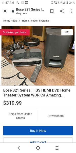 Bose home system for Sale in Northfield, OH