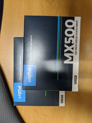 500GB Cruical Solid State Drives for Sale in LOS RNCHS ABQ, NM