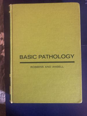 Basic Pathology. Robbins and Angell 2nd edition for Sale in Los Angeles, CA