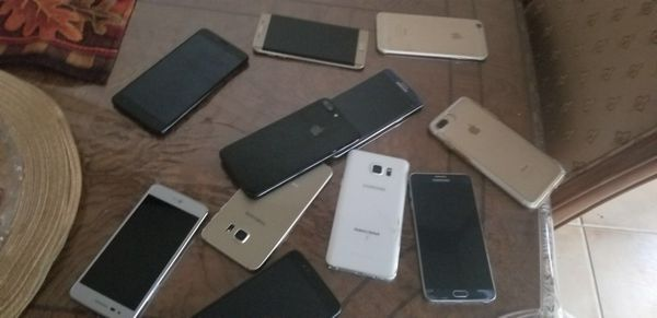 Lots off phone for sale as low is 150 looking to some one buy all 20 phone