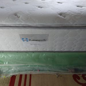 Sealy Queen Mattress With Box Spring for Sale in Falls Church, VA