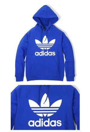 Adidas RAG TREF Royal blue Hoody men size S for Sale in Missouri City, TX